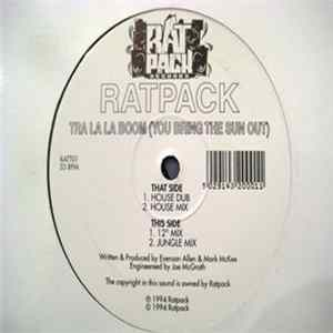 Ratpack - Tra La La Boom (You Bring The Sun Out) Album